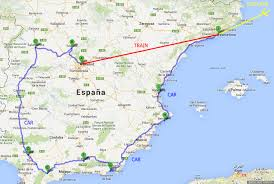 Benidorm Spain Map by Spain Blog About Interesting Places