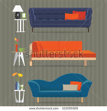 modern home interiors pictures interior sofa sets home accessories furniture stock vector