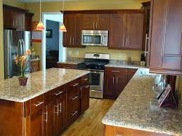 Traditional Dark Wood Kitchen Cabinets Furniture White Kitchen Cabinets With Silestone Vs Granite And