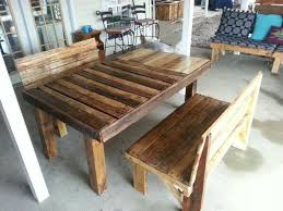 Outdoor Pallet Table Awesome Diy Pallet Table And Benches Projects And Ideas Pallets