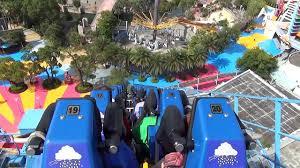 Six Flags New England Park Map The Joker Roller Coaster Pov Six Flags New England New For 2017