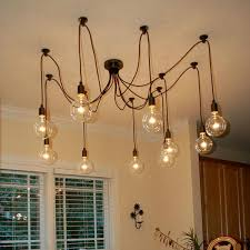 Light Bulbs For Pendant Lights Mordern Nordic Retro Edison Bulb Pendant Light Vintage Loft