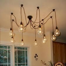 Vintage Light Bulb Pendant Mordern Nordic Retro Edison Bulb Pendant Light Vintage Loft