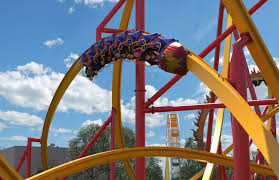 Six Flags Highest Ride Theme Park Overload World U0027s First Single Rail