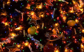 misc candles christmas tree winter lights holidays ornaments