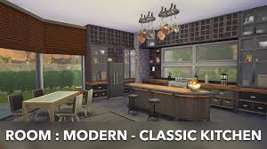 room modern classic kitchen youtube