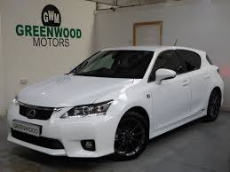 lexus ct200h used uk 2013 lexus ct 200h 200h f sport 9 994