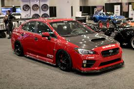 subaru custom cars the tuners and police cars of the 2017 new york auto show