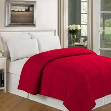 Colored Down Alternative Comforter Cheap Solid Red Comforter Find Solid Red Comforter Deals On Line
