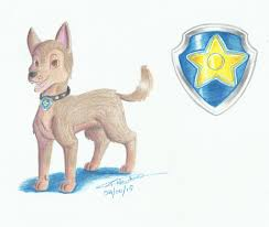 paw patrol chase kreazea deviantart