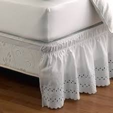 Anthropologie Bed Skirt How To Make A Bed Skirt From A Flat Sheet So Simple And