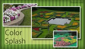 colorful flower gardens flower garden layout design ideas that u0027ll make your neighbors jealous