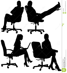 Office Chair Clipart Business Woman To Sit In An Office Chair Stock Photo Image 51929298