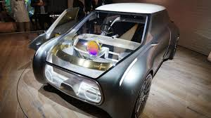 perso car mini u0027s transparent concept car is built for sharing the verge