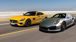 vs porsche 911 turbo mercedes amg gt s vs porsche 911 turbo s