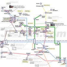Shinagawa Station Map Guide To Take Trains In Kyoto How To Choose The Best Route By