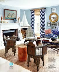living room in quadrille fabrics
