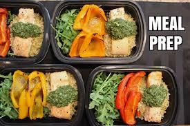 how to meal prep ep 4 salmon 4 meals 4 50 each youtube
