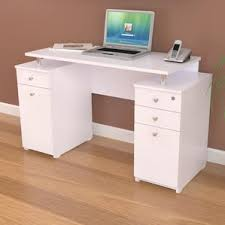 desk with drawer pinellas rectangular computer desk with hutch and