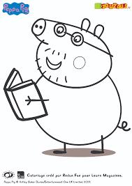 Les coloriages de Peppa Pig  Zouzous dessins animés pour les tout