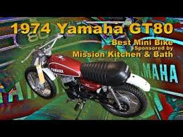 clymer manuals yamaha gt80 mini bike scooter motorcycle video