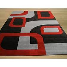 Extra Large Red Rug Modern Red Grey Black Damask Extra Large Rug Cheap Red White