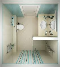 inspirational bathroom design ideas with perfect shower design and perfect bathroom design ideas with simply mathing soft blue white combination and chic stripes sticker on