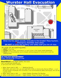 Fire Evacuation Route Plan by Evacuation Uc Berkeley College Of Environmental Design