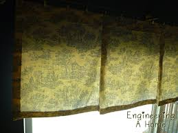 Pleated Valance Pleated Window Valance In The Kitchen Engineering A Home