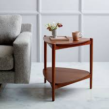 Retro Sofa Table by Retro Tripod Side Table West Elm
