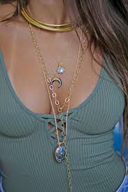neck ring necklace images Gold neck ring kei jewelry jpg