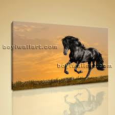 Horse Home Decor by Wall Art Hd Print On Canvas Running Horse Picture Contemporary
