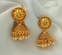 gold earrings images designer earrings wholesaler from chennai