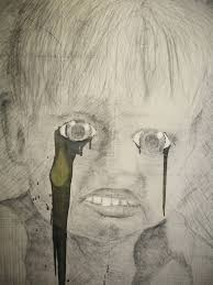 saatchi art crying boy drawing by rick fraterman