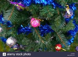 Mini Christmas Tree Decorations Uk by Home Made Christmas Tree Decorations Uk Stock Photo Royalty Free