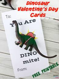 dinosaur free printable kids valentine cards must have mom