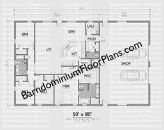 Metal Building Floor Plans For Homes Barndominium Floor Plans Pole Barn House Plans And Metal Barn