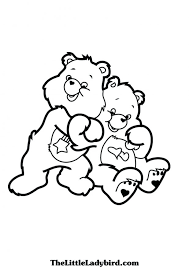 care bears coloring pages to print grumpy christmas love lot hugs