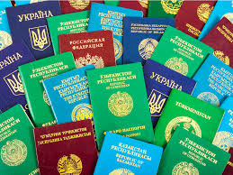 why passports are mostly red green blue black business insider
