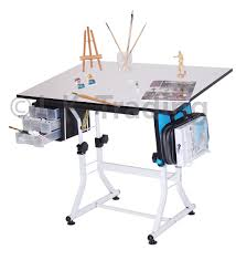 adjustable height drafting table drafting table with adjustable height and tilt