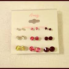 sensitive solutions earrings icing sensitive solutions earrings yellow pink and black
