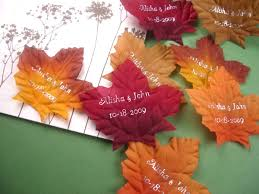 fall wedding favors fall in with favors and flowers new line of fall wedding favors