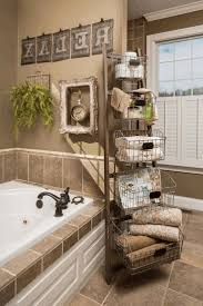 country style bathroom decor one hole faucet and shower head and