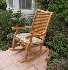Rocking Chair Teak Wood Rocking Outdoor Rocking Chair