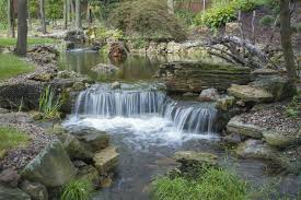 Indiana waterfalls images Expansive waterfalls and pond in crown point indiana hometalk jpg