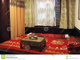 Chinese Bedroom Ancient Chinese Style Bedroom Royalty Free Stock Photography