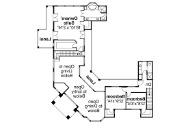 floor plans with courtyards mediterranean house plans veracruz 11 118 associated designs