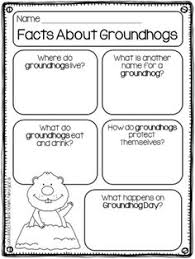 groundhog mini shadow unit kindergarten ground hog