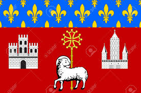 Flag Capital Flag Of Toulouse Is The Capital City Of The Southwestern French