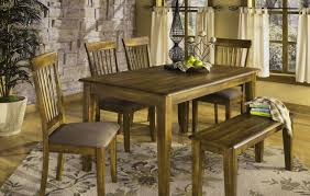 bench rustic table with bench beautiful rustic dining furniture
